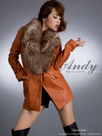 AN-HK125 | Red Brown